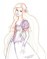 Tangled Rapunzel by celticwren