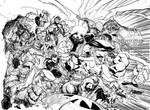 Marvel Comics Presents Inks by J-Scott-Campbell