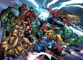 Marvel Comics Presents color by J-Scott-Campbell