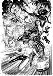 Danger Girl Poster Inks by J-Scott-Campbell