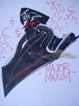 Major Maxim Wondercon Sketch by J-Scott-Campbell