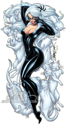 The BLACK CAT lep by J-Scott-Campbell