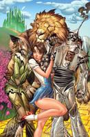 The Wizard of OZ by J-Scott-Campbell