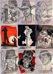 INDIANA JONES Sketch Cards 4 by J-Scott-Campbell