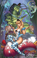 Alice in Wonderland 2011 by J-Scott-Campbell
