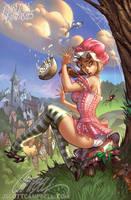 Little Miss Muffet by J-Scott-Campbell