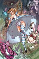Alice in Wonderland 2010 by J-Scott-Campbell