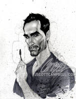 LOST sketches 'Richard' by J-Scott-Campbell