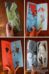 TALL Sketchbook pics by J-Scott-Campbell