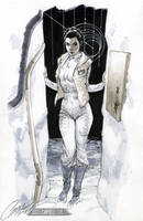 STAR WARS: HOTH Leia by J-Scott-Campbell