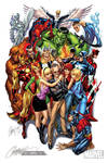 Stan Lee Marvel Tribute by J-Scott-Campbell