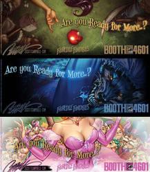FairyTale Fantasies 2014 Teaser Set 1 by J-Scott-Campbell