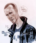 Jesse Pinkman from Breaking Bad by J-Scott-Campbell