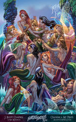 FTF 2014 Neverland's Mermaid Lagoon by J-Scott-Campbell