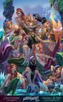 FTF 2014 Neverland's Mermaid Lagoon by J-Scott-Campbell