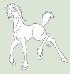 Foal |LINES| by Sweet-Suggar