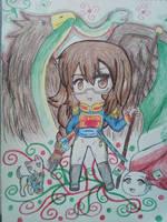 Happy Birthday/Independence Day Mexico by Spirit-Okami