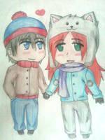 .:Commission:.South Park: Stan x Samantha by Spirit-Okami