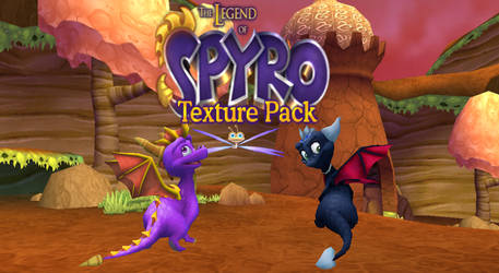 Spyro A Hero's Tail Legend texture pack by Lydai