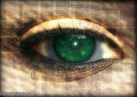 in the eye galaxy by LeyBorealis