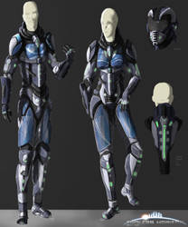 EHO - Human Armor (Male and Female) by BioticShark