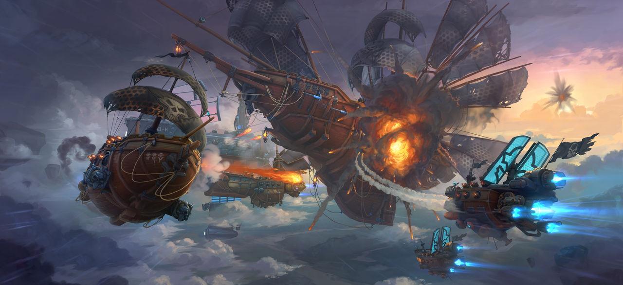 Sky Battle II by Real-SonkeS