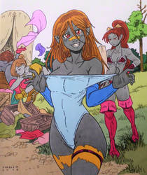 Layla - Looting is fun! by Shabazik (Base COLOR) by Naughty-b-Nature