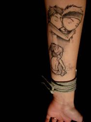 kurt halsey tattoo by inhaledthrill