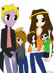 Family photo by LiveWireGoth