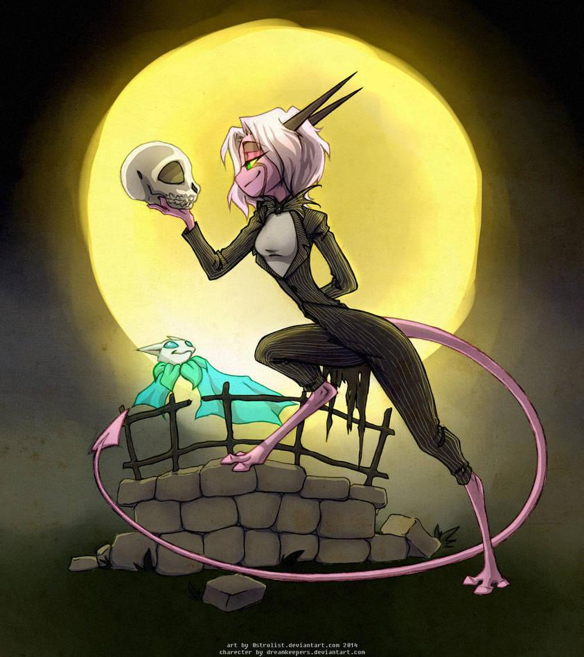Dreamkeepers Halloween Fanart Contest 2014 Namah by 0strolist
