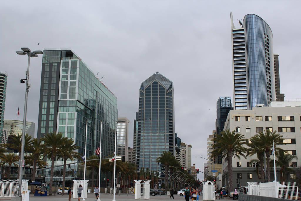City of San Diego by StyxxsOmega