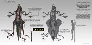 Anubis Model 4700 Information Sheet by AmyCornelson