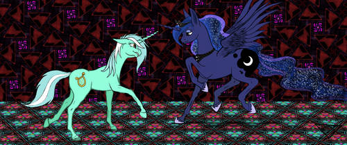 Lyra and Luna by DaisyAzuras