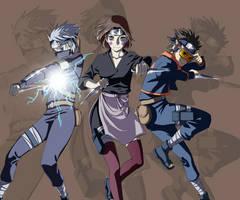 Naruto - Team Minato by Alderion-Al