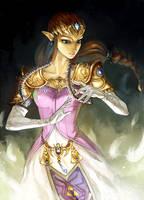 Zelda by Alderion-Al