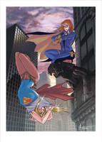 Batgirl and Supergirl! by DrManhattan-VA