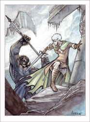 Fantasy Illustration - Print Available! by DrManhattan-VA