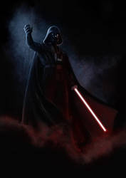Star wars tribute: Darth Vader - by DrManhattan-VA