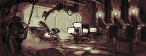 Environment - Sci-fi Workshop by DrManhattan-VA