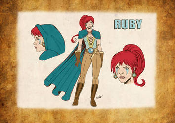 Ruby and the warriors of Dion - Kickstarter soon! by DrManhattan-VA