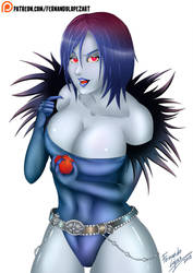 Ryuk Female by iFernandoLopez