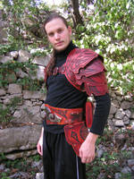 Celtic Hard Leather Armour 2 by Bear-Crafter