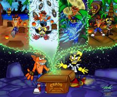 Happy 20th Anniversary Crash Bandicoot! by Nl-Rad