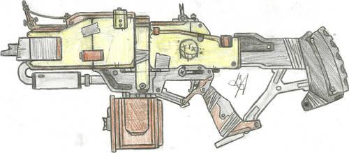 Junker Auto Rifle by Chigiri16