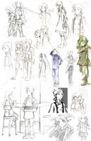 2013 Sketchdump v.2 by Lubrian
