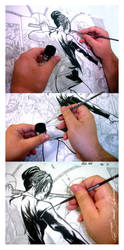 How I Ink: Brush by eDufRancisco