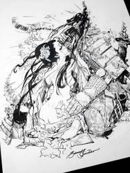 A Gueixa e O Samurai by eDufRancisco