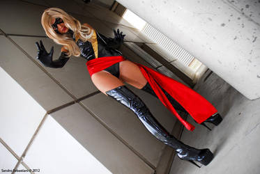 cosplay Ms. Marvel -8 by sadakochan87
