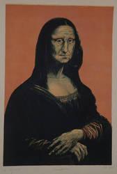 Mona Lisa by aryehagmon