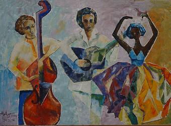 Dancers-2 by aryehagmon